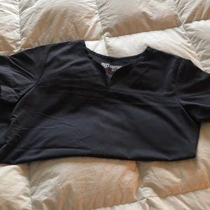 Women's Greys Anatomy Gray Scrub Top